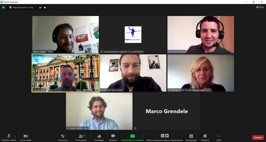 Incontro virtuale di twinning tra le città di Padova e Murcia (Spagna)